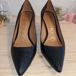 Calvin Klein Black Heels Size 7